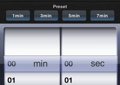 Setting Timer