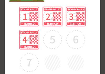Namco App-Stamp